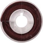 Rico Design Verloursband 2mm x 2,5m bordeaux