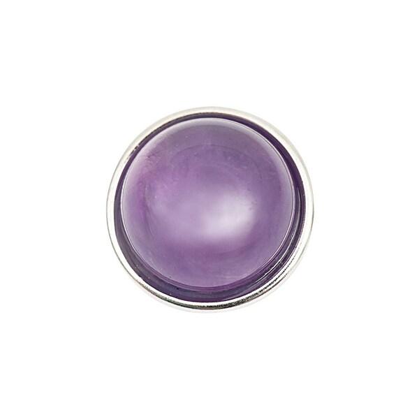 Rico Design Knopf amethyst lila 14mm