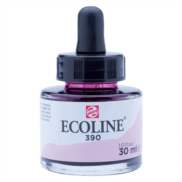Ecoline flüssige Wasserfarbe 30ml pastellrosa