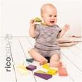 Rico Design Baby Cotton Soft Print dk 50g 125m flieder-braun