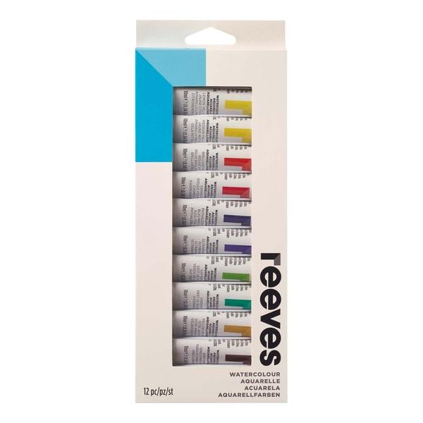 reeves Aquarellfarben Set 12x 10ml