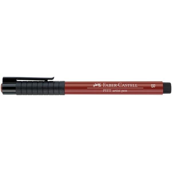 Faber Castell PITT artist pen brush indischrot