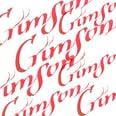 Winsor & Newton Kalligraphietusche 30ml karmesin