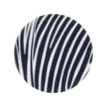 Rico Design Scheibe Kunststoff Zebra 30mm