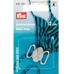 Prym Bikiniverschluss silber 12mm