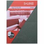 Artoz Doppelkarte S-Line A6 200g/m² 5 Stück graphit