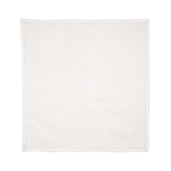 Rico Design Serviette weiß 38x38cm