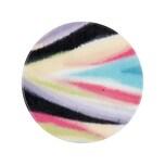 Rico Design Scheibe Kunststoff Design mehrfarbig 30mm