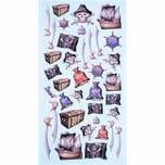 HobbyFun SoftySticker Piraten 17,5x9cm