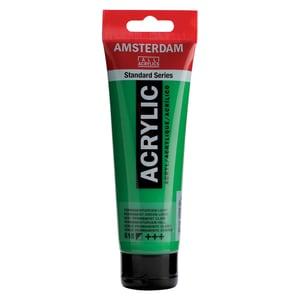 AMSTERDAM Acrylfarbe 120ml permanentgrün hell