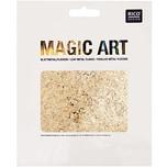 Rico Design Magic Art Blattmetall-Flocken gold