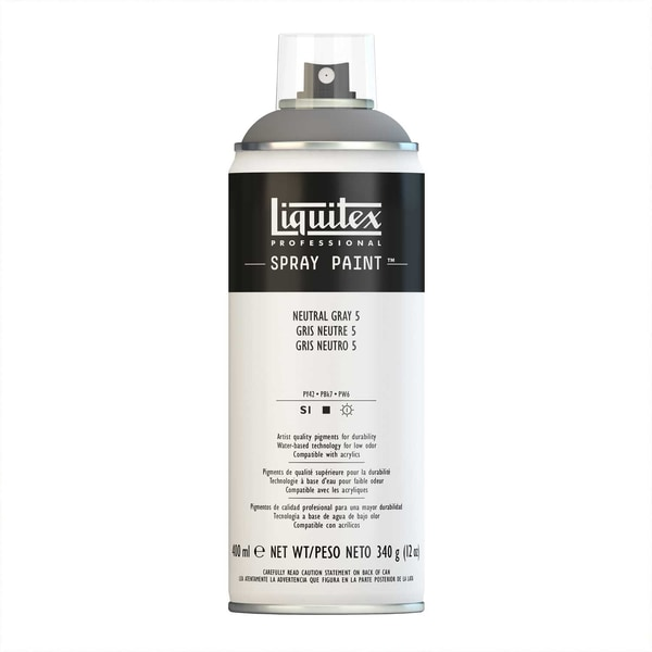 Liquitex Acrylspray 400ml neutralgrau 5