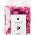 Made by Me Glitter Pompons 63 Stück rosa