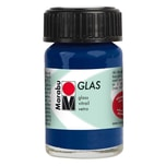 Marabu Glasfarbe 15ml nachtblau