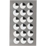 Paper Poetry Sticker Augen oben 4 Blatt 15 mm