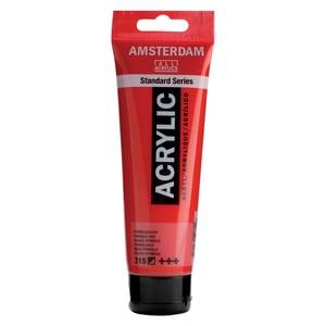 AMSTERDAM Acrylfarbe 120ml pyrollerot