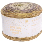 Rico Design Creative Cotton Dégradé Print 200g 800m flieder-gelb