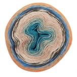 Rico Design Creative Cotton Dégradé Lucky 8 200g 800m azur-orange