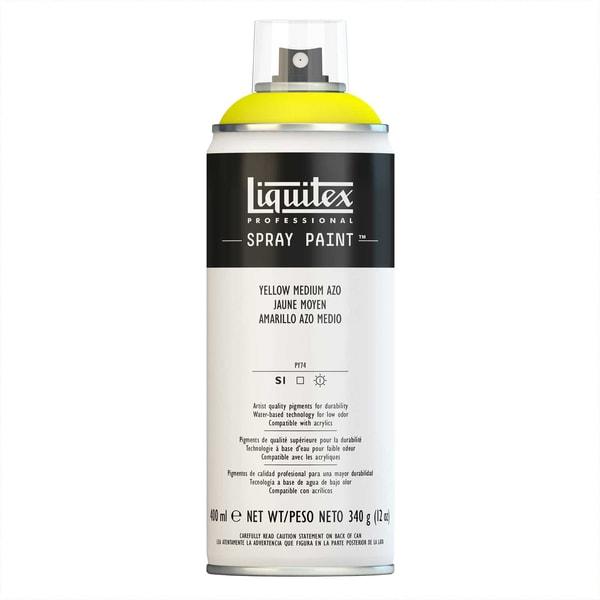Liquitex Acrylspray 400ml mittelgelb azo