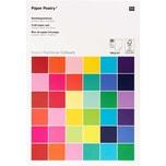 Paper Poetry Bastelblock Super Rainbow Colours A4 180g/m² 30 Blatt