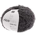Rico Design Baby Teddy aran 50g 135m dunkelgrau