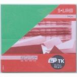 Artoz Tischkarte S-Line 200g/m² 5 Stück apfelgrün