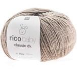 Rico Design Baby Classic dk 50g 165m hellbraun melange