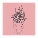 May&Berry Stempel Aloe Vera rosa 35x45mm
