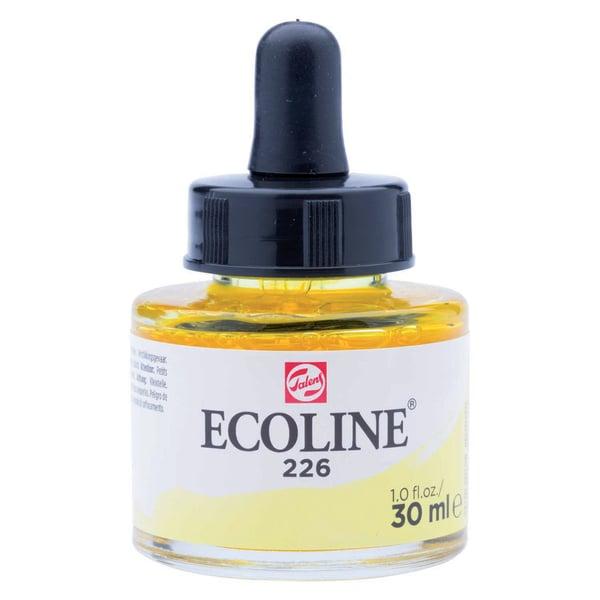 ECOLINE flüssige Wasserfarbe 30ml pastellgelb