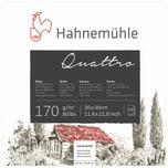 Hahnemühle Skizzenblock Quattro 30x30cm 50 Blatt