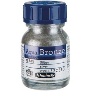 Schmincke Aqua-Bronze 20ml silber