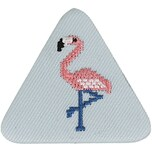 Jewellery Made by Me Button Flamingo dreieckig 45x50mm