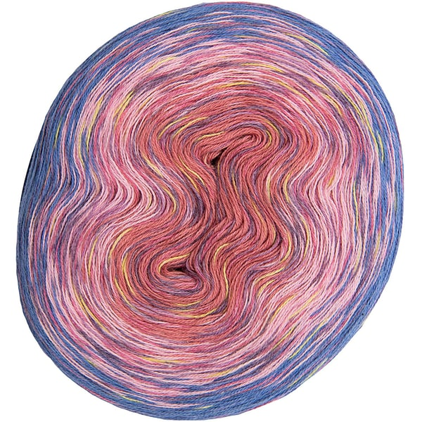 Rico Design Creative Cotton Dégradé Print 200g 800m rosa-lila