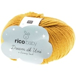 Rico Design Baby Dream dk uni - A Luxury Touch 50g 115m senf