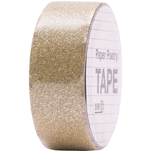 Paper Poetry Glitter Tape 1,5cm 5m gold