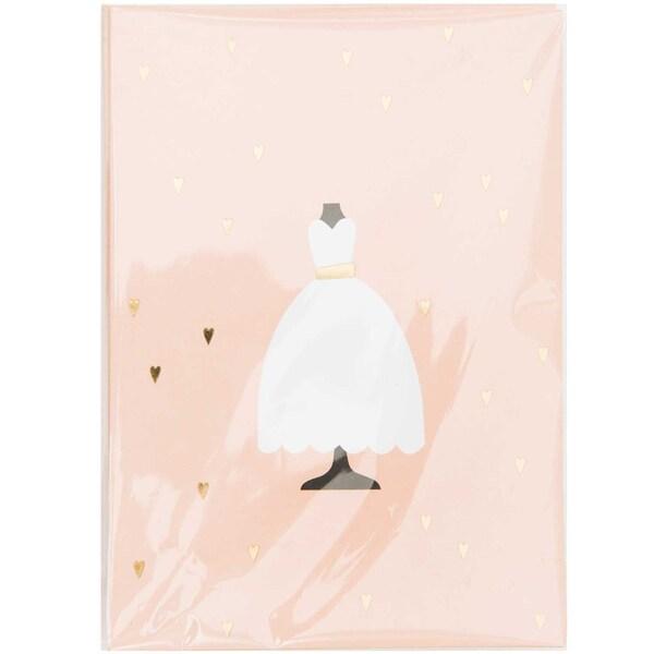 Paper Poetry Karten Brautkleid 10 Stück
