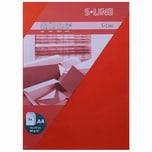 Artoz Bogen S-Line A4 80g/m² 5 Stück rot