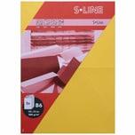 Artoz Doppelkarte S-Line B6 200g/m² 5 Stück gelb