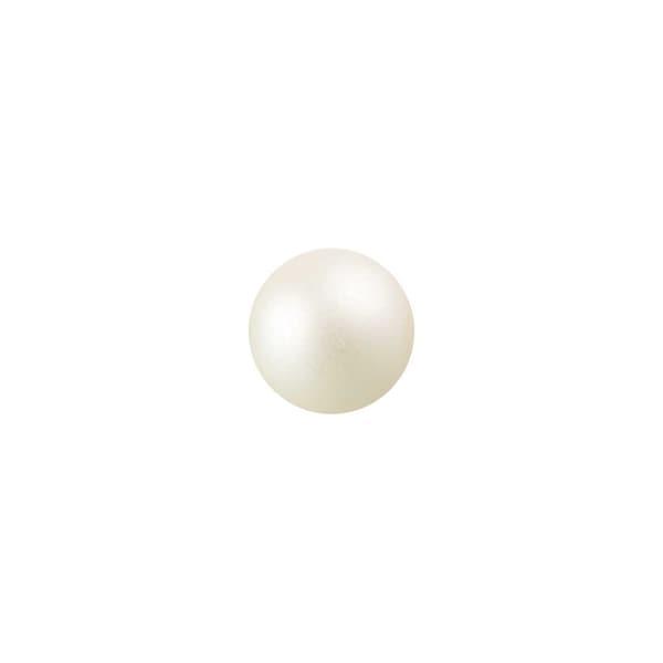 Rico Design Renaissanceperle 3mm 120 Stück weiß matt