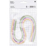 Paper Poetry Quilling Papierstreifen pastell 5mm 200 Stück