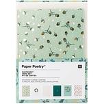 Paper Poetry Grußkartenset Classical Christmas A6 /C6 12teilig