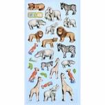 HobbyFun SoftySticker Zootiere 17,5x9cm