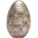 Deko-Ei aus Polyresin champagner 10,5cm