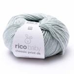 Rico Design Baby Classic Print dk 50g 165m petrol Spray