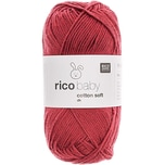 Rico Design Baby Cotton Soft dk 50g 125m himbeere