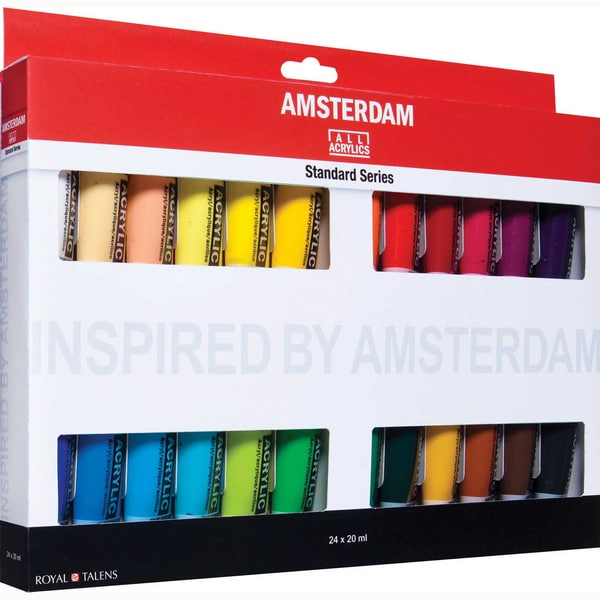 AMSTERDAM Acrylfarbe Set 24x20ml