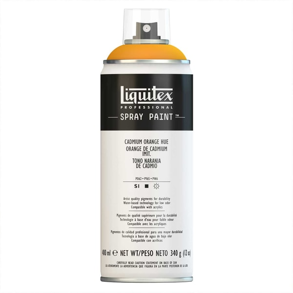Liquitex Acrylspray 400ml kadmiumorange