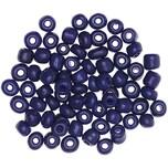 Jewellery Made by Me Keramikperlen natur 5mm 12g dunkelblau