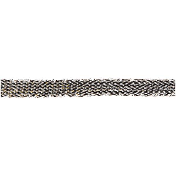 Metallicband silber 6mm 10m