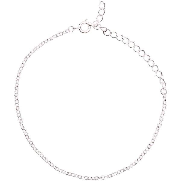 Jewellery Made by Me Gliederarmband fein silber 16-22cm